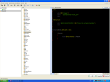 SilverIRC theme. The Aliases Editor. Screenshot provided by thexception